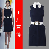 HIGH quality FASHION VB dress Victoria Beckham dress sexy slim women's dress free shipping