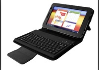 Free Shipping! Wireless Bluetooth Keyboard Leather Case For Samsung Galaxy Tab 2 7.0 P3100 P3110 P3113 P6200 P6210 +Retail Box