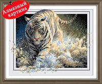 Free shipping DIY diamond painting diamond cross stitch kit Inlaid decorative painting tiger SHZS-011
