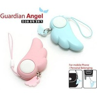 Cartoon anti-rape device bag mobile phone bag high-pitch alarm