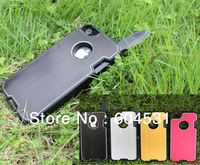 Free shipping 1 pcs any color by post For iphone 5G knife protector case