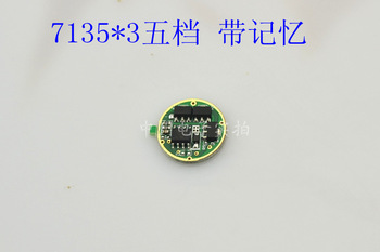 Led flashlight circuit board ak47a gear with double 7135 x3 dimming driver board  Free shipping