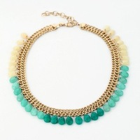 040 fashion necklace 2013 The new alloy natural stone sweater women necklace Girlfriend Gifts