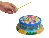 Millenum china lotsynergy fishing toy electric fishing toy set child rotating music