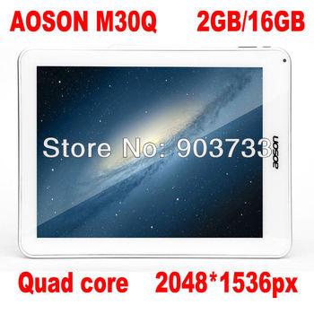9.7 inch Aoson M30Q and M33 RK3188 Quad Core 1.6GHz 16GB ROM 2048x1536px Dual Camera 5.0MP WIFI Bluetooth HDMI OTG with keyboard