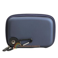 R1B1 Brand New 5.2Inch Hard GPS Case Cover Navy Carrying Bag Protection for Garmin Nuvi Navy