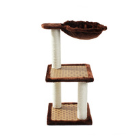 Fun pet toys pet cat toys triple jumping cat tree cat litter Cat tree Scratching
