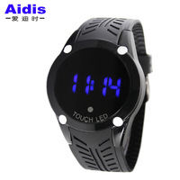 Touch screen watch led watch luminous sports watch fashion lovers fashion table