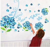 FREE SHIPPING DIY Wall stickers glass sticker