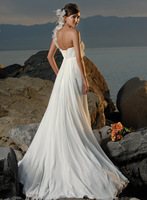 White/Ivory Wedding Dress Bridal Gown Formal US Size 4-6-8-10-12-14-16-18+++