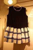 2013 new fashion & cute mini chiffon dresses women's summer casual / career brief clothing 2056