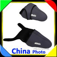 10PCS Free shipping Size -M Neoprene Camera Cover Case Bag Pouch Protector for Nikon D40 D40X D60 D80 D90 D5000 D300 D700DSLR