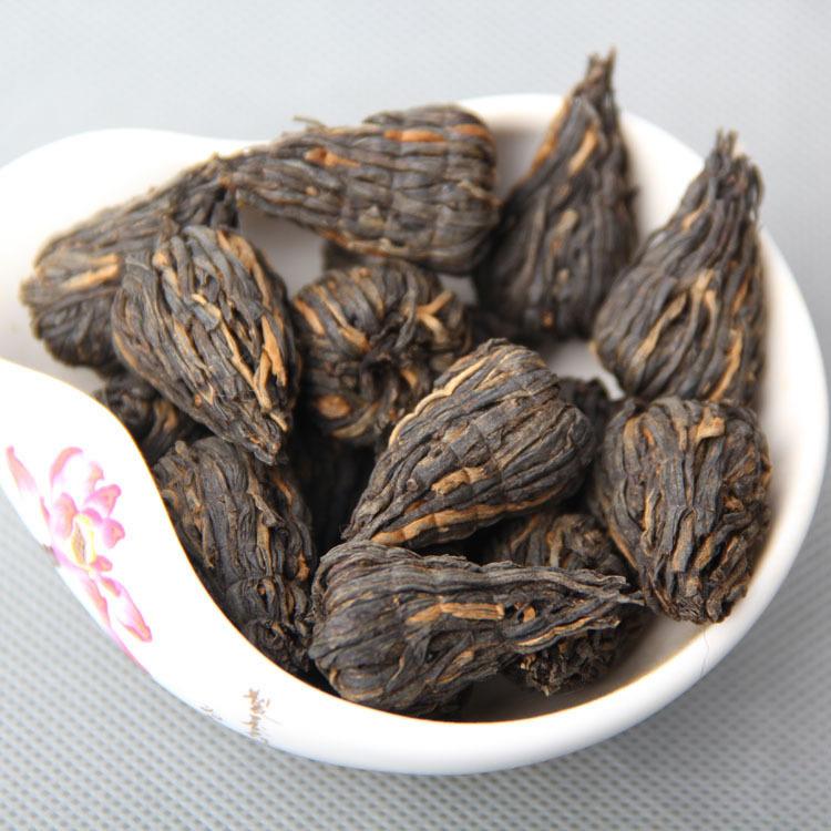 500g Premium Black Tower Tea Pagoda Tea Artistic tea Dianhong Yunnan Black Tea handmade A3CHDT2