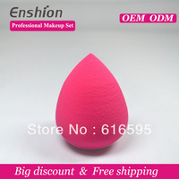 Big diccount!!  Enshion high quality cheap makeup puff, makeup sponge ball, buy powder puff free shipping