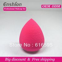 Big diccount!!  Enshion high quality cheap makeup puff, makeup sponge ball, buy powder puff free shipping