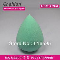 Big diccount!!  Enshion high quality cheap makeup puff, makeup sponge ball,cosmetics brands free shipping
