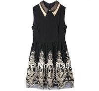 2013 new fashion & cute chiffon dresses women's summer casual / career brief clothing A5