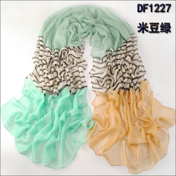 Min order $15 Free Shipping!2013 new style 180x110cm women's fashion scarf autumn and winter 100% cotton voile pashmina SC217