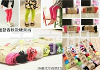 Retail and wholesale Factory Outlet2013 Spring models Tong Bottoms children  modal candy color leggings children pants