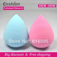 Big diccount!!  Enshion high quality cheap makeup puff, makeup sponge ball,make up sponge free shipping