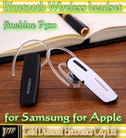 Fineblue F510 bluetooth wireless headset for iphone for sumsang Galaxy retail box 10pcs/lot Free shipping