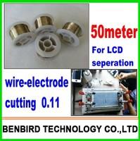 50meter 0.11 cutting line lines separate fix refurbish refurbishing machine separator for iPhone, for samsung s4 s3 i9500 B4057