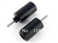 Free Shiping Black Frame Slider Fairing Protectors No Cut For 2002-2003 Yamaha YZF R1 YZFR1 02 03