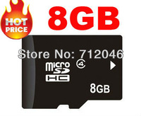 2pcs 8GB  MICRO SD CARD MICRO TF FLASH MEMORY CARD WITH SD ADAPTER