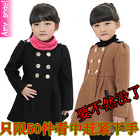 Children's clothing  child autumn 2013  girl's trench child girl's  outerwear female child princess  outerwear
