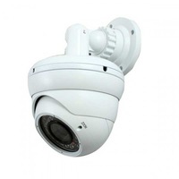 White Sony CCD Color 480TVL Varifocal 4-9mm Waterproof Dome Camera Security