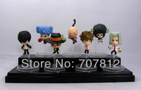 New Arrival HITMAN REBORN Action Figures Cute Collection Toys PVC 7PCS/Set High Quality Free Shipping