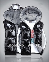 2013 Autumn/Winter New Women's Clothing Slim Outerwear Down Vest Female Warm Feather Waistcoat S-XXL Free Shipping!