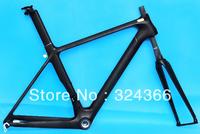 Full carbon Matt Matte road bike frame 700C frame ( BSA) fork seatpost , clamp , (Gift: headset) 50cm , 52cm , 54cm, 56cm, 58cm