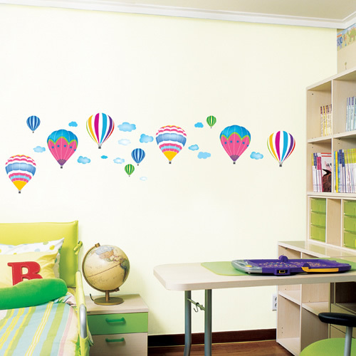 iShow K8 Flying dreams personalized wall stickers children's room bedroom wall stickers cartoon stickers D870(China (Mainland))