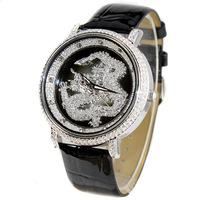 Melissa chinese dragon watches memorial ladies watch fashion table large dial rhinestone table