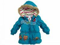 girl cotton-padded jacket children coat wadded jacket child fashion children's clothing male