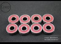 CRAZY ABEC-7 BEARING SKATEBOARD BEARING PENNY SKATEBOARD LONGBOARD BEARING ABEC-7BEARING FOR  skate bearings (8pcs/set)