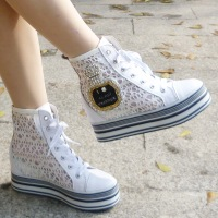 2013 free shipping new arrival limited edition high rhinestone elevator platform women's casual sports shoes