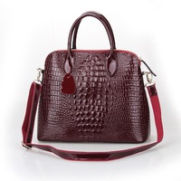 2013 Women's Spring Handbag Fashion Women's Bag Crocodile Pattern Handbag Formal Cross-Body Shoulder Bag