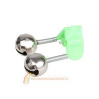 R1B Hot Sell Mini Practical Fishing Tool Best Plastic Clip Fishing Rod Bell Alarm New