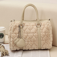 Women's handbag shoulder bag messenger bag handbag bag heart fashion women's