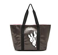 MZ145 Japan kawaii Drawstring Mummy Tote Little White Rabbit Print Shopper lunch bag Free shipping wholesale drop shipping J13