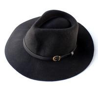 Woolen fedoras cowboy hat millinery