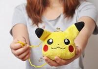 H1636 Pokemon Lovely Cute Cartoon Purse Pocket So Nice Kawaii Free shipping wholesale drop shipping J13