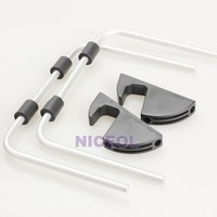 NI5L Universal Magnalium Stand Holder Bracket for iPad Galaxy Tablet PC
