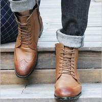 высокий вырезать мужчин kf150 ковбойские сапоги воловьей кожи натуральной кожи осень зима