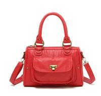 H1768 FF Womens  fashion designer RED PU bag Shoulder Satchel BAG free shipping Free shipping wholesale Drop shipping J713