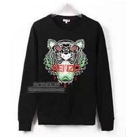 Free shipping!  Tiger head printing couple male and female models in Europe and America Sweat