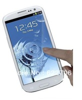 Free shipping+lowest price lucid HD Clear screen protector with package for samsung galaxy S3 i9300 phone