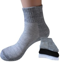 Factory Price 5 pairs / lot Summer Men's Mesh Socks for Sports